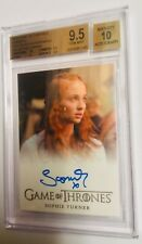 Game of thrones Season 2 Sophie Turner 9.50 BGS Gem Mint PERFECT autograph!
