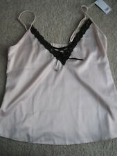 New Size 16 Pour Moi Entrice Camisole cami pink nightwear