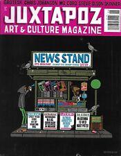Juxtapoz Art Magazine Grotesk Chris Johanson Mq Coro Steve Olson Skinner 2009