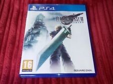 Final Fantasy VII Remake - PS4 PAL Final Fantasy 7 Mint Condition