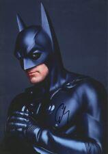 "George Clooney ""Batman"" Autogramm signed 20x30 cm Bild"