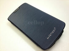 NAVY MERCURY ORIGINAL FILP COVER CASE for LG NEXUS4 E960 GOOGLE REFERENCE PHONE