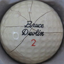 (1) Bruce Devlin (Spalding Duo Sphere) Signature Logo Golf Ball (Cir 1964) #2