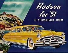 HUDSON 1951 - Vintage Car Ad Fridge Magnet