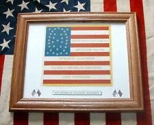 34 Star Flag...American Civil War Flag...17th Michigan