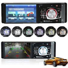 1 Din HD Screen Stereo Car Radio 4.1 inch Bluetooth MP5 Player FM Aux W/ Remote