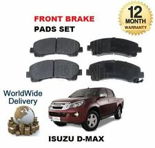 Front Brake Pads 4 For Isuzu Dmax Rodeo Pickup TFS85 3.0TD 8//2008-7//2012 *NEW*