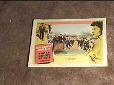 THREE HOURS TO KILL 1954 LOBBY CARD #4 DONNA REED