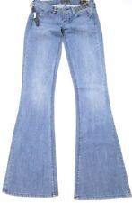 NWT Genetic Denim **The Evey** Vendetta Stud Spikes Slim Bell Jeans 25 x 33
