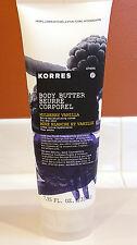 Korres Mulberry Vanilla Body Butter 7.95oz Jumbo, Shea, Avocado, Almond Oil
