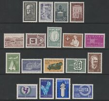 Finland - 1957/67, 18 x Issues - MNH