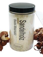 (€ 31,00/kg) Badesalz Sandelholz Duft Salz Bade Meersalz aus dem Toten Meer 450g