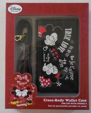 Disney True Love Cross Body wallet Case Mickey And Minnie New