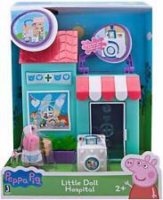 Peppa Pig Peppa's Little Doll Hospital Toy Playset & Peppa Figure