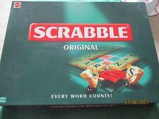 SCRABBLE ORIGINAL GAME EXCELLENT CONDITION