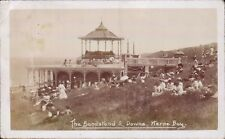 Herne Bay. The Bandstand & Downs.