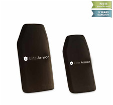 Elite-Armor Single Curved Hard Armor Plate | III ICW (PE)