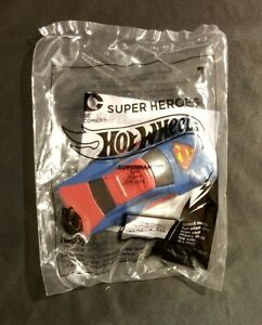 Hot Wheels 2016 McDonalds Happy Meal Toy Superman Car New Sealed