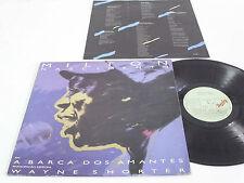 MILTON NASCIMENTO A Barca dos Amantes - 1986 LP - MPB BRAZIL Wayne Shorter LIVE