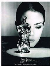 PUBLICITE ADVERTISING 025  1999  JEAN-PAUL GAULTIER  parfum femme  CLASSIQUE