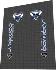 MARZOCCHI Bomber Z1 1996 Fork Sticker / Decal Set