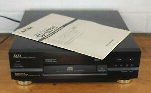 Akai CD-M770 Stereo HiFi Separates CD Player Compact Disc Player & User Manual