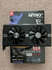 AMD Radeon Sapphire Nitro + RX 580 8GB GPU Gaming Video Card