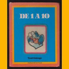 Collection Trottimage DE 1 À 10 avec 1 vignette hologramme en couverture 1980