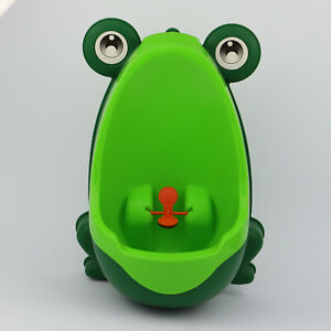 Cute Frog Potty Training Urinal for Boys Toddlers w/ Removable Urinal