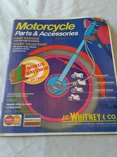 VINTAGE 1974 J.C. WHITNEY MOTORCYCLE Accessories & Parts Catalog No. 9