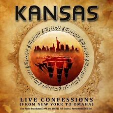 KANSAS - LIVE CONFESSIONS (FROM NEW YORK TO OMAHA)  3 CD NEW+