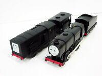 Motorized Trackmaster Thomas & Friends Train Tank Engine Neville & Diesel Mattel
