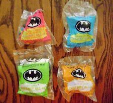1991--BATMAN (Complete SET of 4 Toys) by McDonald's [NIP]