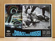 IL DRAGO DEGLI ABISSI fotobusta poster Behemoth The Sea Monster-The Giant Behemo
