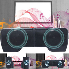 New listing Usb Power Speakers Clip-On Computer Stereo Sound Bar 3.5mm for Desktop Laptop Pc