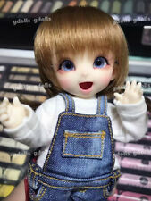 BJD Mini Doll Little 1/8 PP Unpainted Bare Doll without Any Make Up