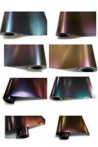 Autofolie Chameleon Effekt Farbwechsel Luftkanäle Chamäleon Farbschimmer