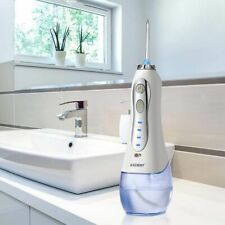 Oral Irrigator Cordless Portable Water Dental Flosser USB Rechargeable 300ml