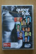 Queer As Folk (U.S.) : Season 2 (DVD, 2007, 5-Disc Set)     Preowned (D214)