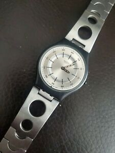Rare Swatch Skin Watch Flattention..Very Unique Swiss Made