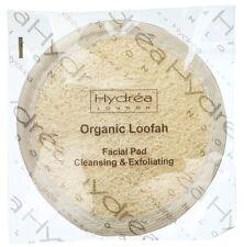 Hydrea London Esponja Facial Limpieza Y Exfoliante Pad orgánico egipcia LO10