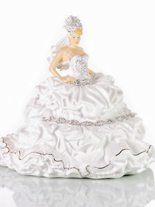 THE ENGLISH LADIES CO FAIRYTALE GYPSY BRIDE BLONDE DOLL FIGURE NEW AND BOXED