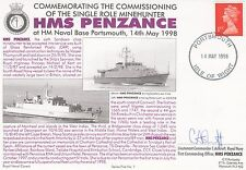 5RNCH1 Commissioning  Minehunter HMS Penzance Signed 1st CO.