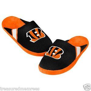 NFL Cincinnati Bengals Team Jersey Indoor/Outdoor Slippers ~ Size MED (9-10)