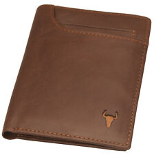 New Men's Genuine Leather Wallet 11 Credit Card Holders Front Pocket Purse