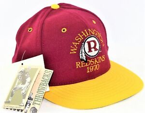 Roman Washington Redskins 1970 Throwback Fitted Baseball Cap Hat Size 6 7/8 NWT