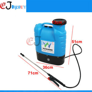 16L Electric Rechargeable Weed Sprayer Garden Backpack Farm Pump Spray 12V oz