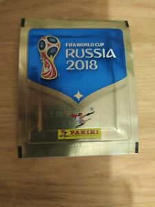 PANINI WC 2018 VERY RARE PACKET FROM OZON!