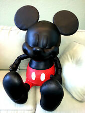 "COACH X DISNEY Leather 38"" LARGE MICKEY MOUSE DOLL Collectible LIMITED EDITION"