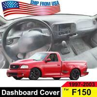 Dash Mat Dashmat Dashboard Cover For Ford F150 1997 1998 1999 2000 2001- 2003